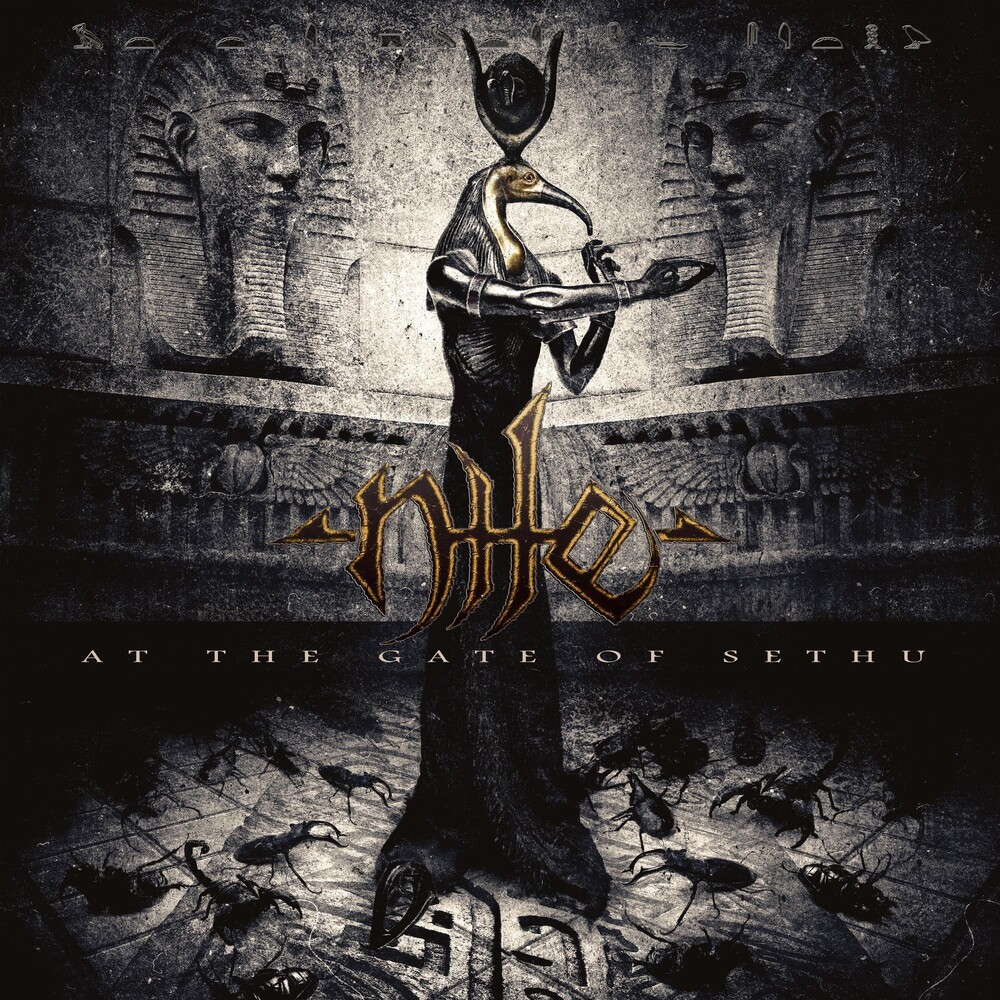 Nile - At The Gate Of Sethu [Clear with Green/Brown Splatter LP]