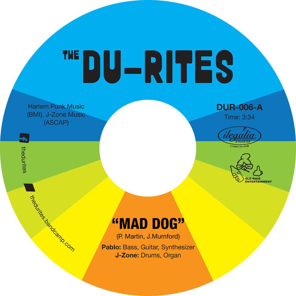 Du-Rites J-Zone & Pablo Martin - Mad Dog / Cheap Cologne