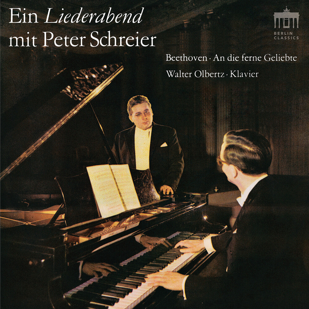 Beethoven / Schreier / Olbertz - Ein Liederabend Mit Peter Schr