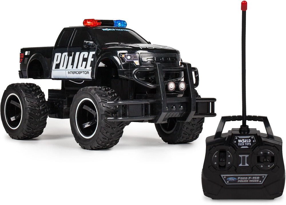 Rc Vehicles - Officially 1:14 Ford F150 SVT RAPTOR POLICE RC TRUCK