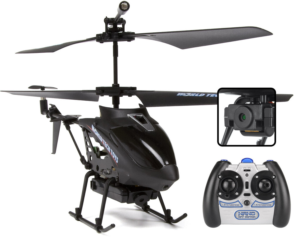 Rc Helicopters - 3.5CHs Nano Spy IR Camera Gyro Helicopter - Video & Pictures