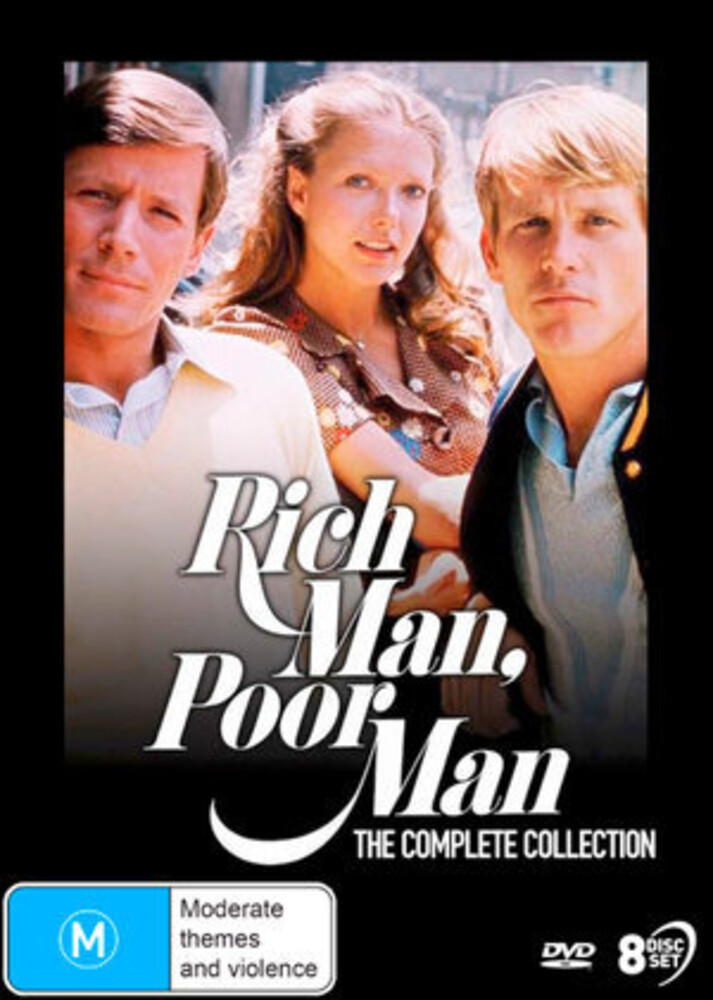 Nick Nolte - Rich Man Poor Man: The Complete Collection (8pc)