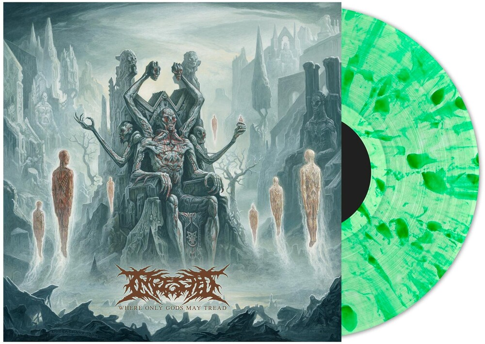 Ingested - Where Only Gods My Tread [Indie Exclusive Limited Edition Emerald Green Splatter LP]