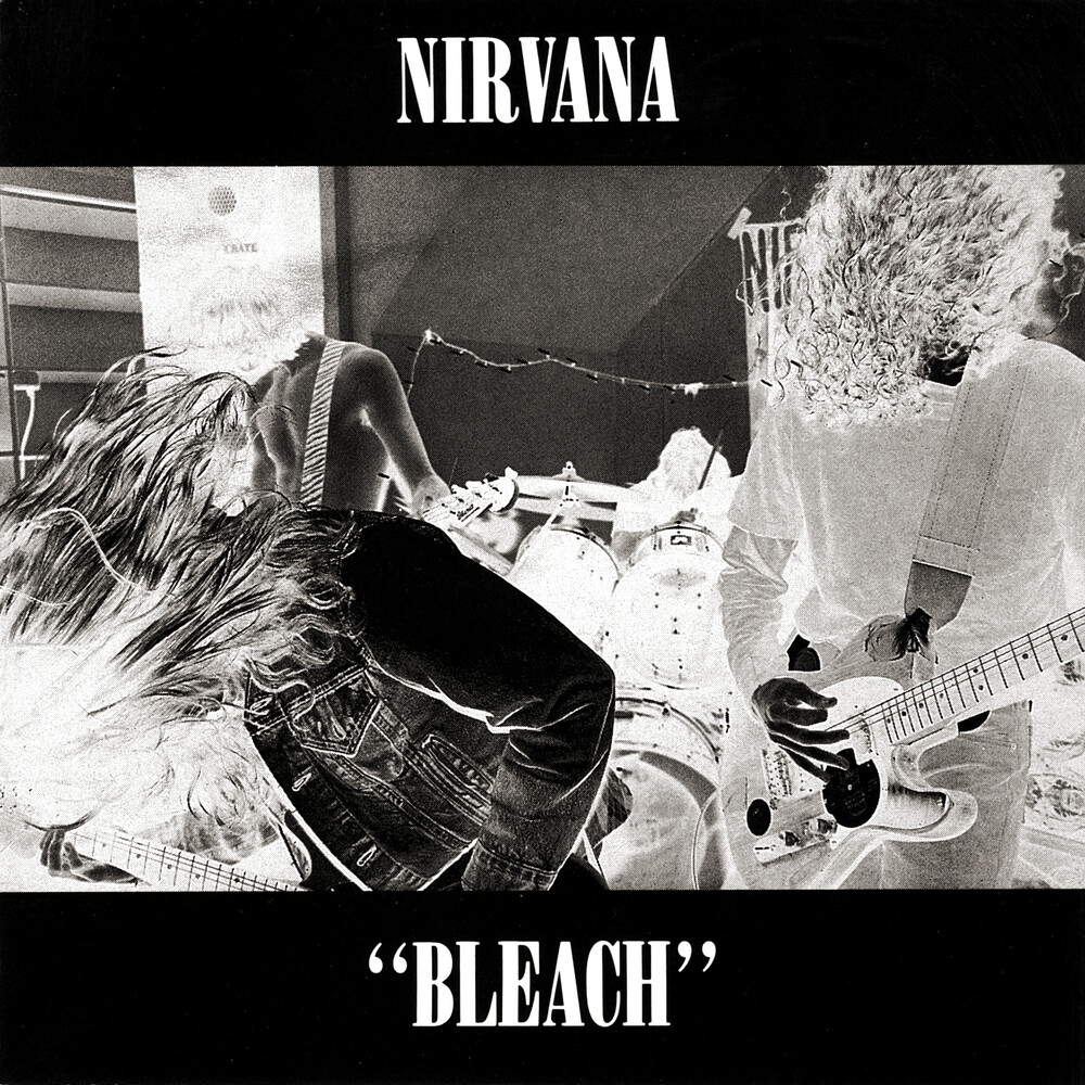 Nirvana - Bleach [Indie Exclusive Limited Edition Blue/Black Swirl LP]