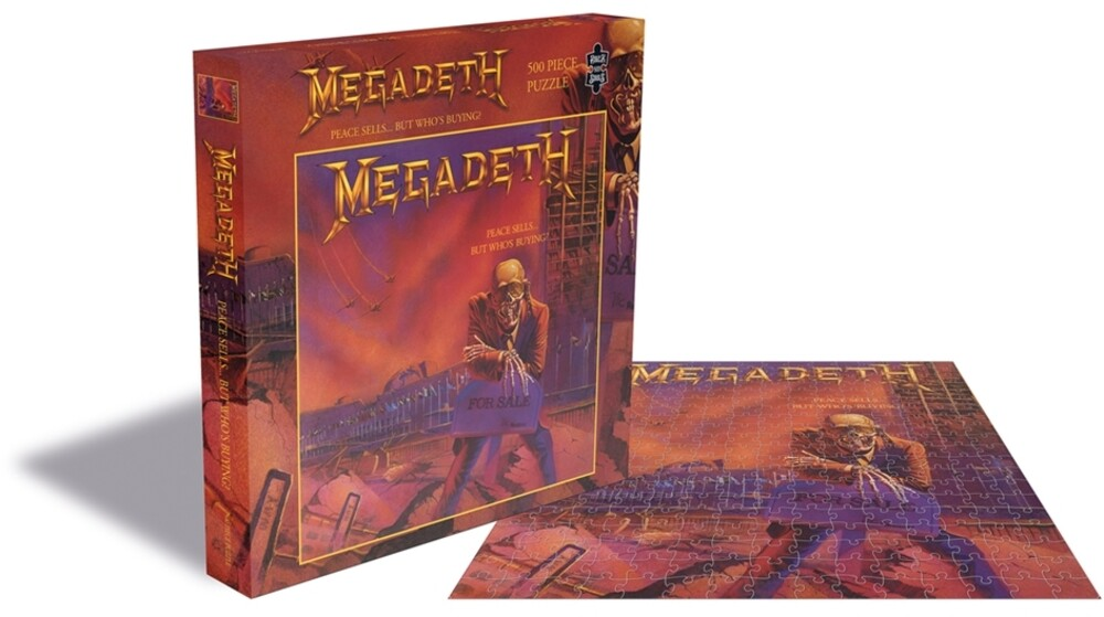 - Megadeth Peace Sells...But Who'S Buying? (500 Piece Jigsaw Puzzle)