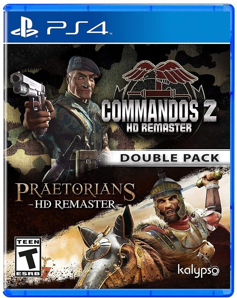 - Commandos 2 & Praetorians: HD Remastered Double Pack for PlayStation 4