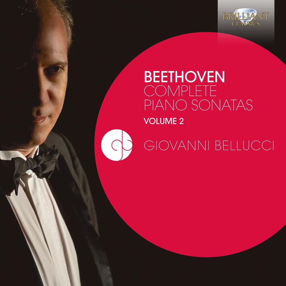 Beethoven / Bellucci - Complete Piano Sonatas 2 (3pk)