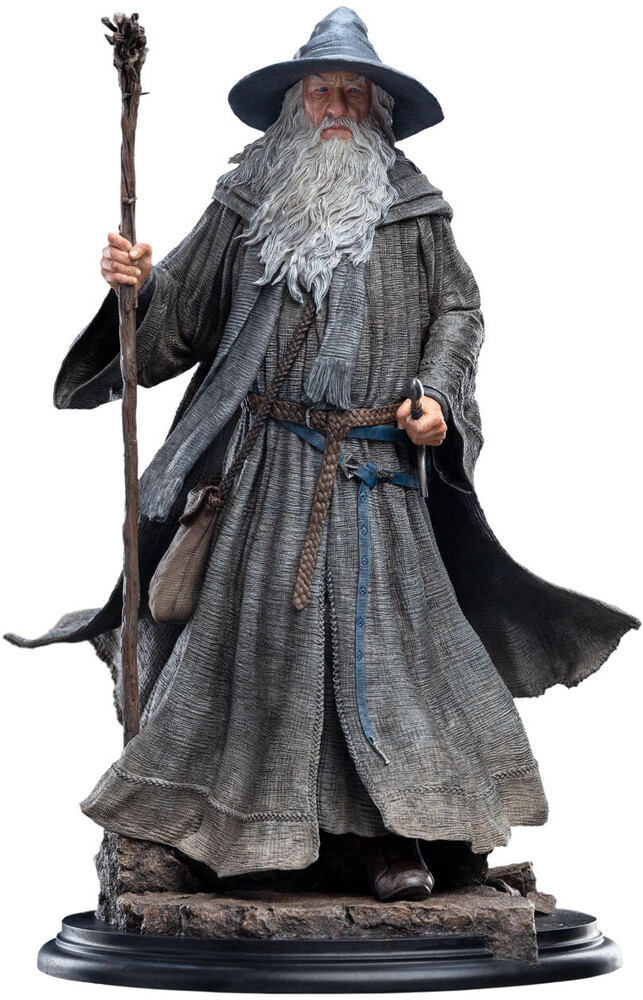 Large Polystone - WETA Workshop Polystone - Lord Of The Rings - LOTR 20th Anniversary Classic Series - Gandalf The Grey Pilgrim (1:6 Scale Statue)
