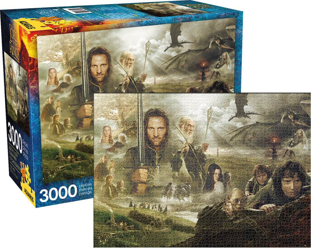 Lord of the Rings Saga 3000 PC Puzzle - Lord Of The Rings Saga 3000 Pc Puzzle