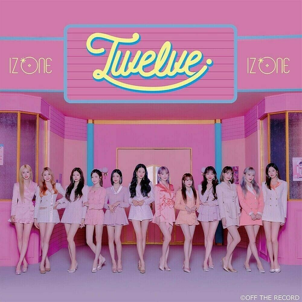 IzOne - Twelve (Version A) (incl. DVD)