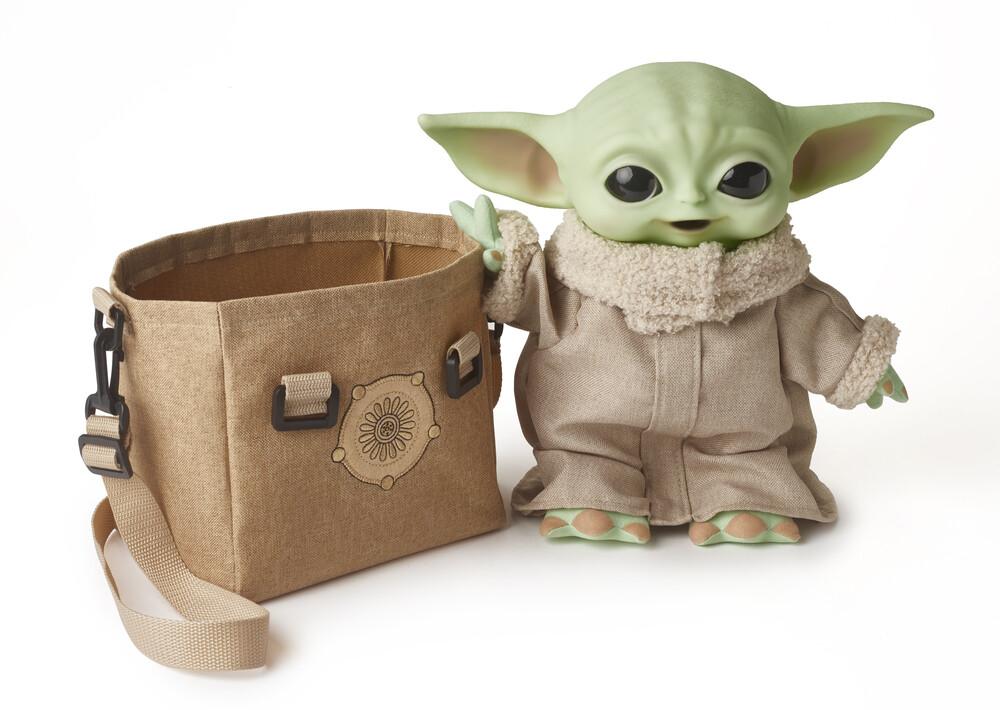 """Star Wars - Mattel Collectible - Star Wars, The Mandalorian: The Child 2.0 11"""" Basic Plush (""""Baby Yoda"""")"""