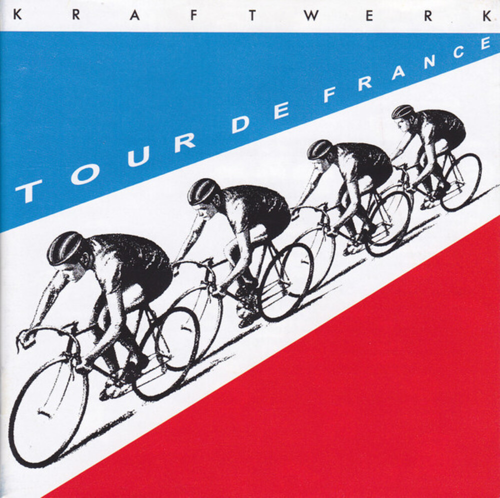 Kraftwerk - Tour De France [Indie Exclusive Limited Edition Red & Blue 2LP]