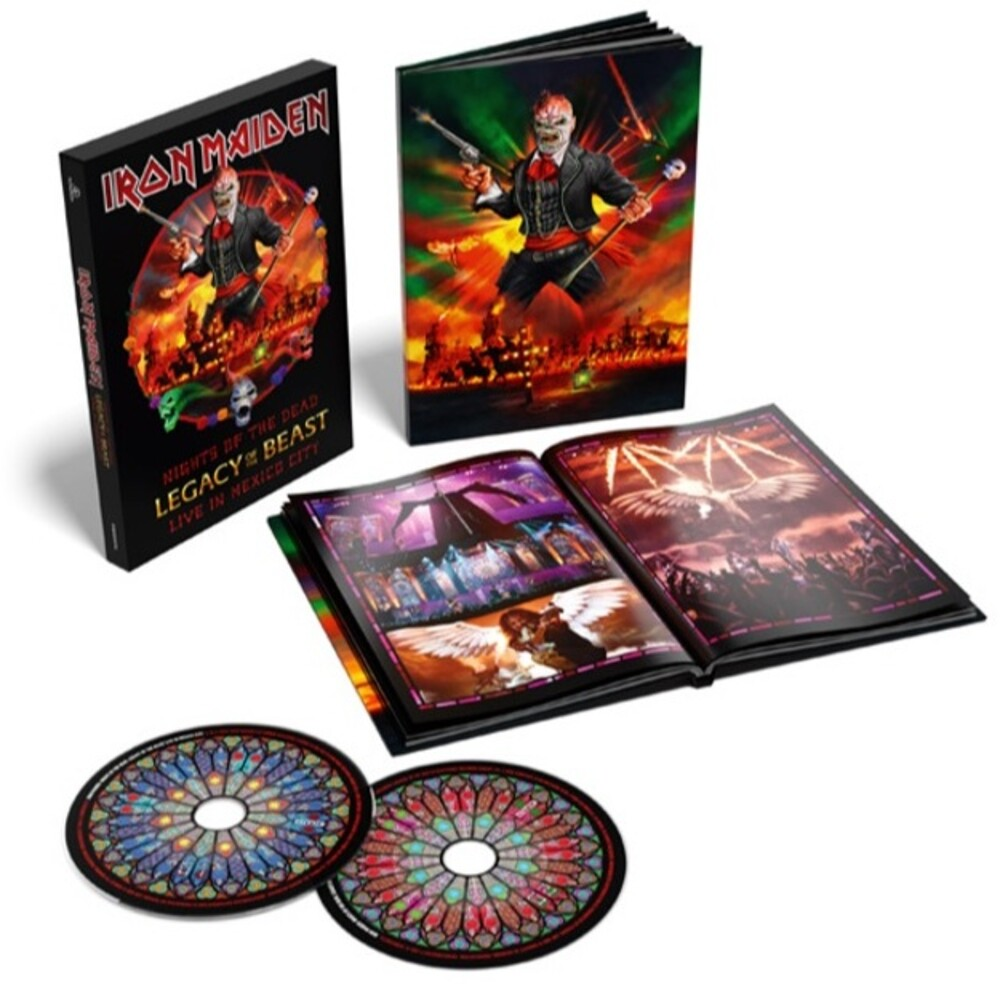 Iron Maiden - Nights Of The Dead, Legacy Of The Beast: Live In Mexico City [Limited Edition Deluxe 2CD]