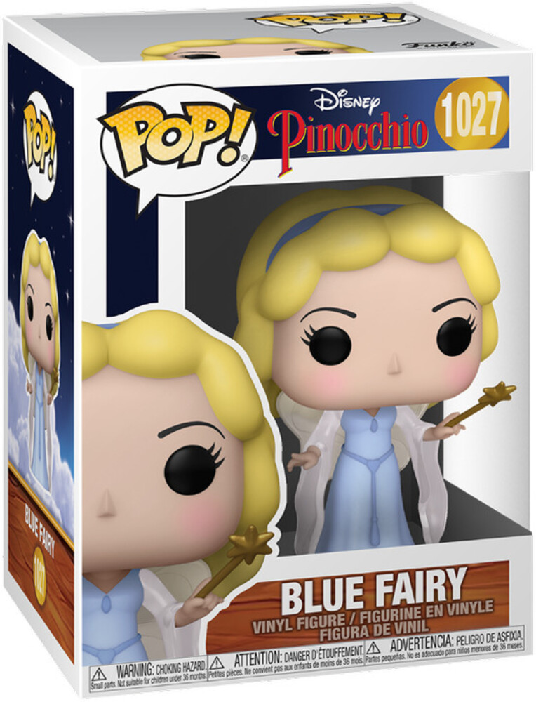 - FUNKO POP! DISNEY: Pinocchio- Blue Fairy (Styles May Vary)