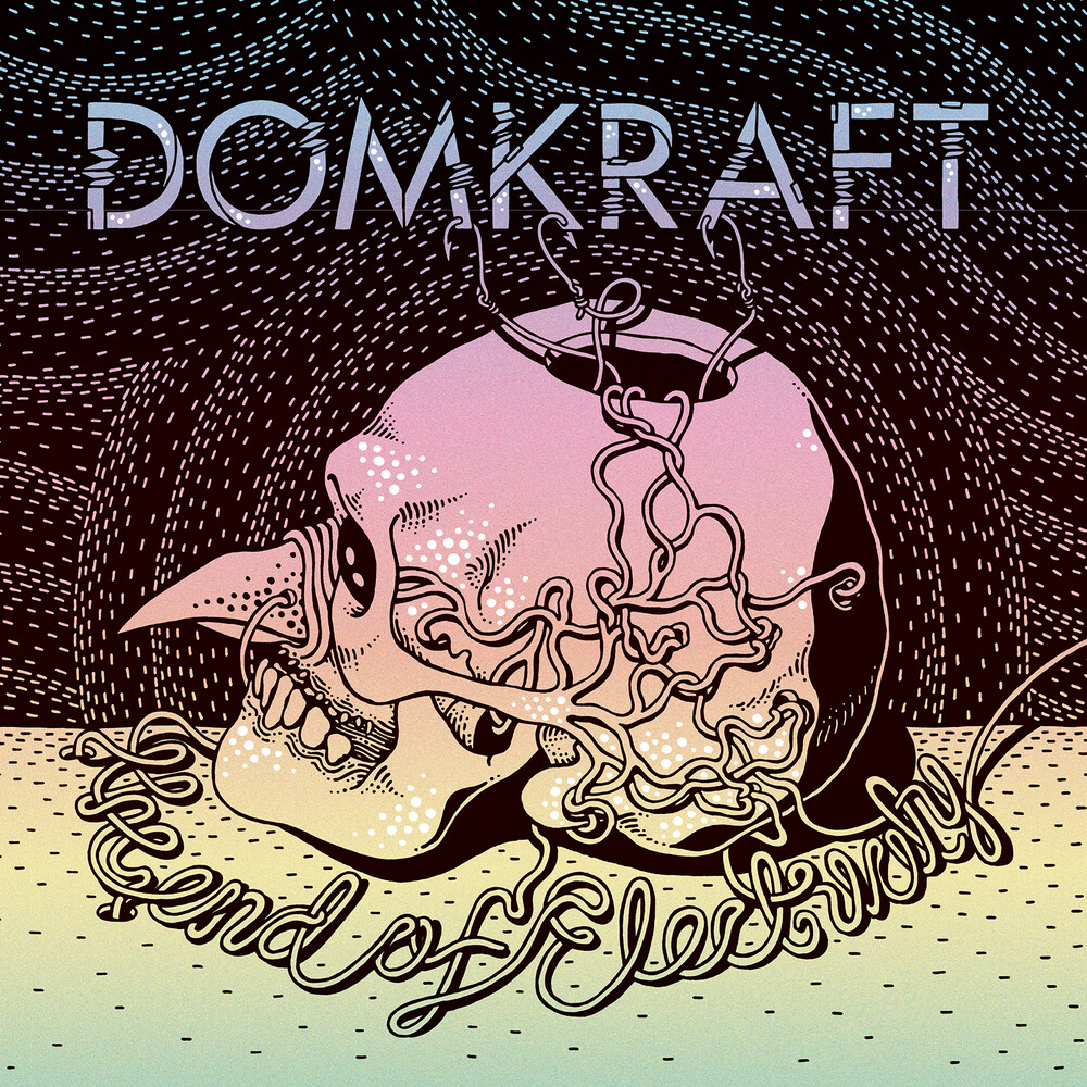 Domkraft - End Of Electricity (Oxblood Red Vinyl) (Gate)