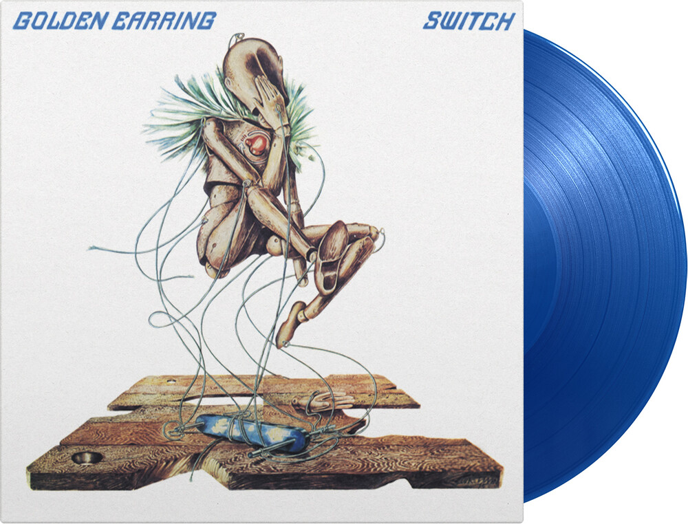 Golden Earring - Switch [Limited 180-Gram Transparent Blue Colored Vinyl]