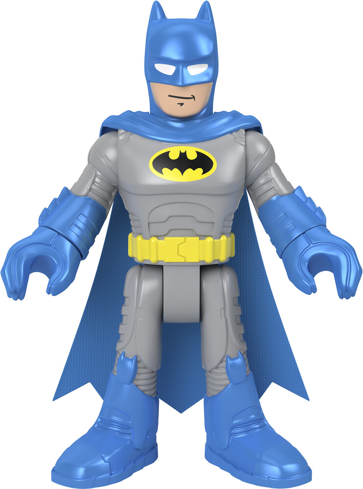 Imaginext Dc Super Friends - Fisher Price - Imaginext DC Super Friends 10 Gray & Blue Batman (DCSF)