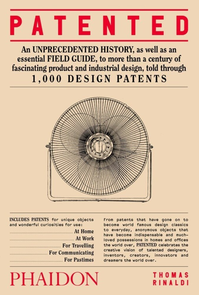 Rinaldi, Thomas - Patented: 1,000 Design Patents