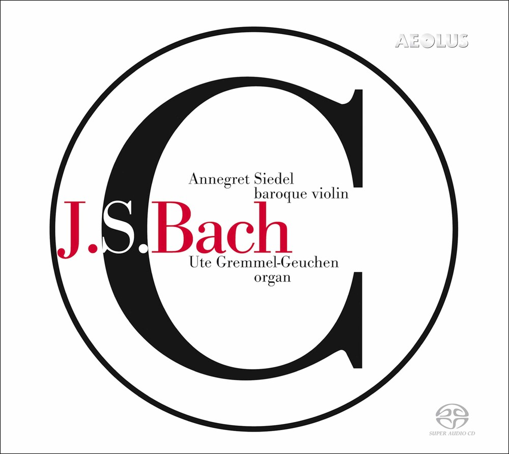 J Bach .S. / Siedel / Gremmel-Geuchen - Works for Violin & Organ