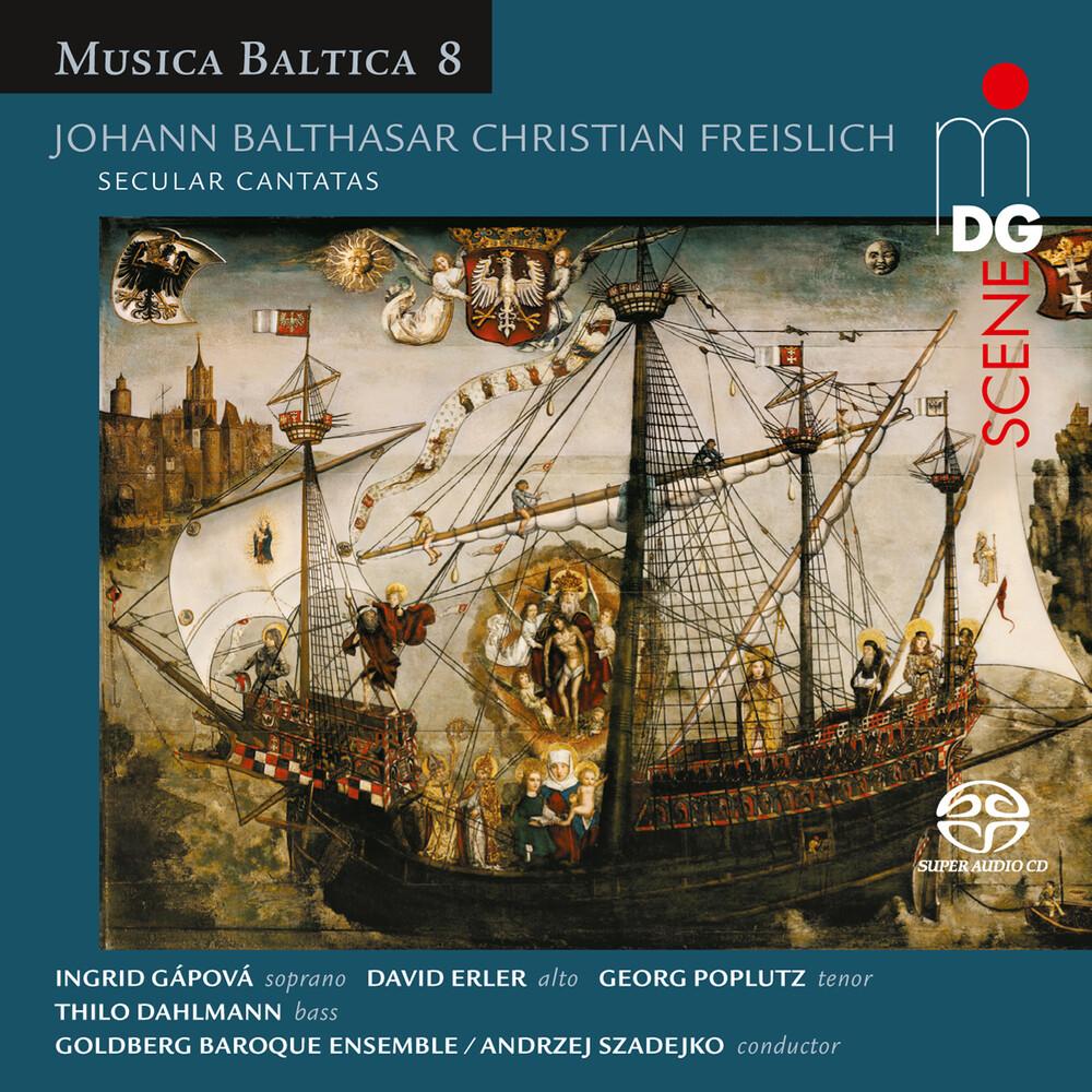 Freislich / Goldberg Baroque Ensemble / Szadejko - Secular Cantatas