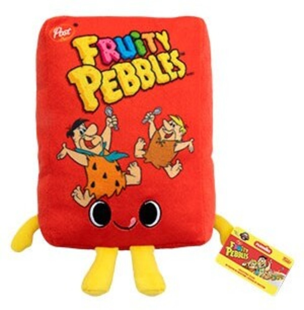 - Post- Fruity Pebbles Cereal Box (Vfig)