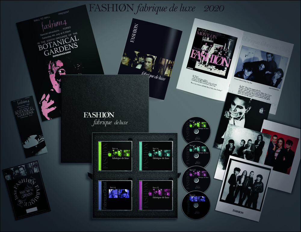 The Fashion - Fabrique (Deluxe 4CD Box) [Import]
