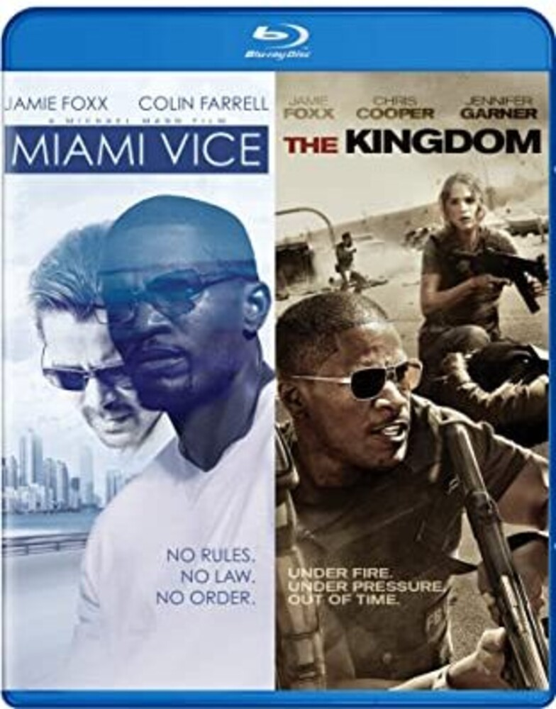 - Miami Vice & The Kingdom - Double Feature Bd