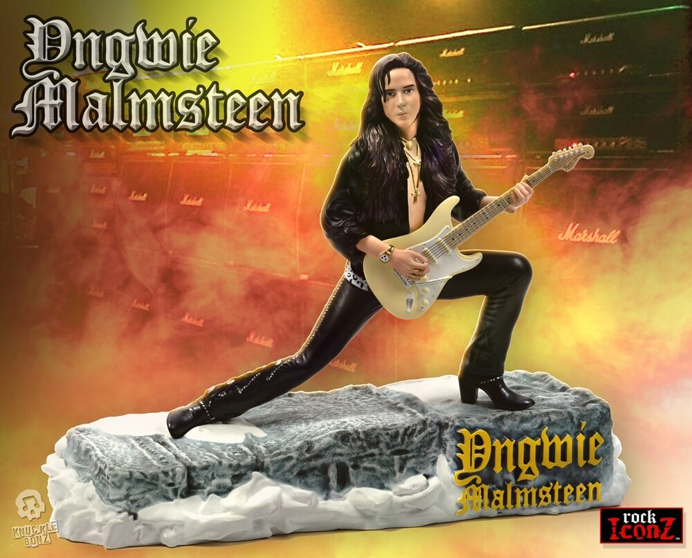 - Knucklebonz - Yngwie Malmsteen Rock Iconz Statue