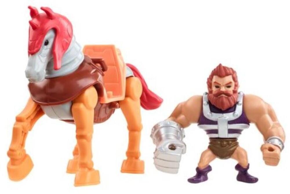 Masters Of The Universe - Mattel Collectible - Masters of the Universe Mini Eternia Stridor Fisto (He-Man, MOTU)