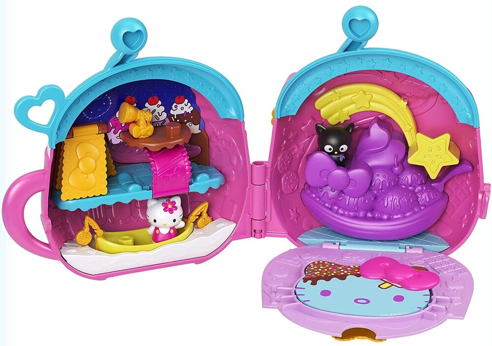 - Mattel - Hello Kitty and Friends Hot Cocoa Camp Compact (Sanrio)