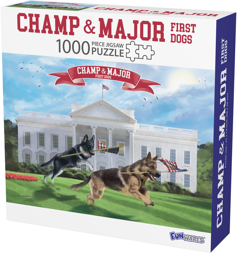 - Funwares Champ & Major, First Dogs Puzzle (Puzz)