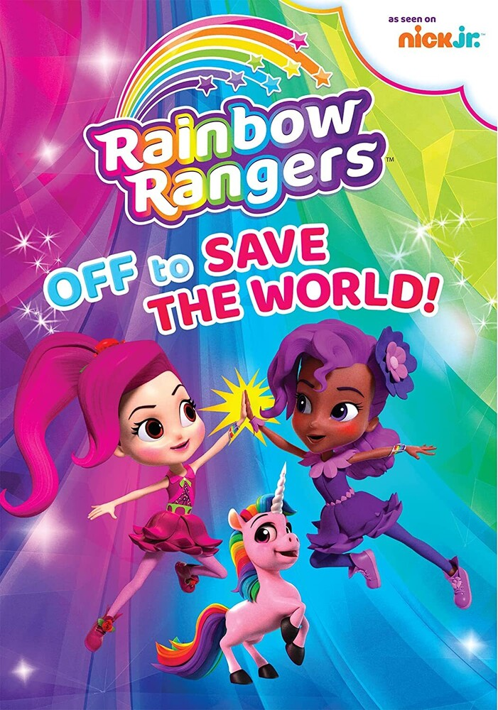 - Rainbow Rangers: Off to Save the World! DVD