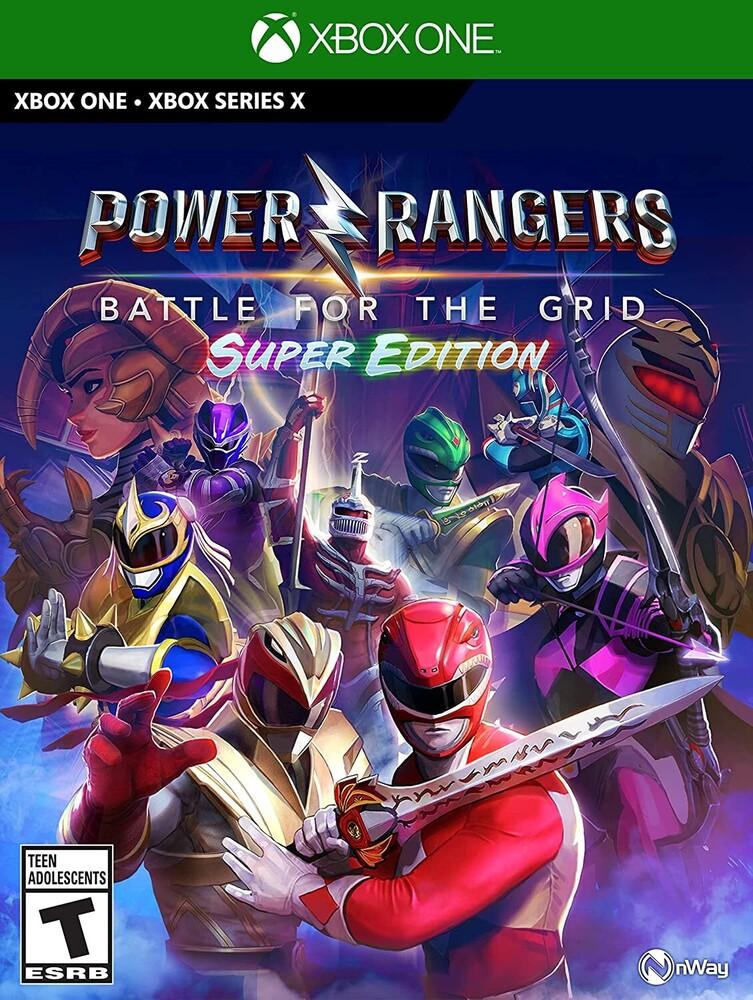 Xb1/Xbx Power Rangers: Battle for Grid - Super Ed - Power Rangers: Battle for the Grid - Super Edition for Xbox One & Xbox Series X