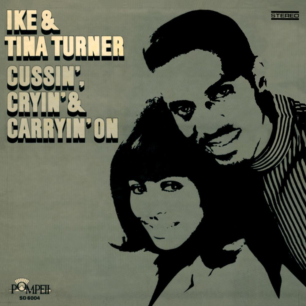 Ike / Tina Turner - Cussin' Cryin' (Gold & Pink Vinyl) [Colored Vinyl] (Gol)