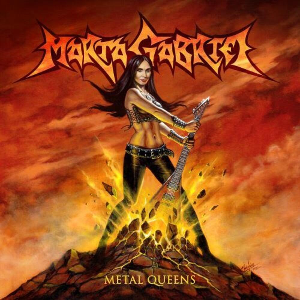 Marta Gabriel - Metal Queens (Red Vinyl) [Colored Vinyl] [Limited Edition] (Red)