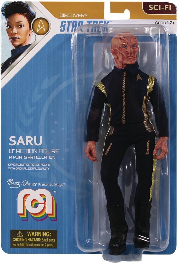 - Mego Sci-Fi Star Trek Discovery Saru 8in Af (Afig)