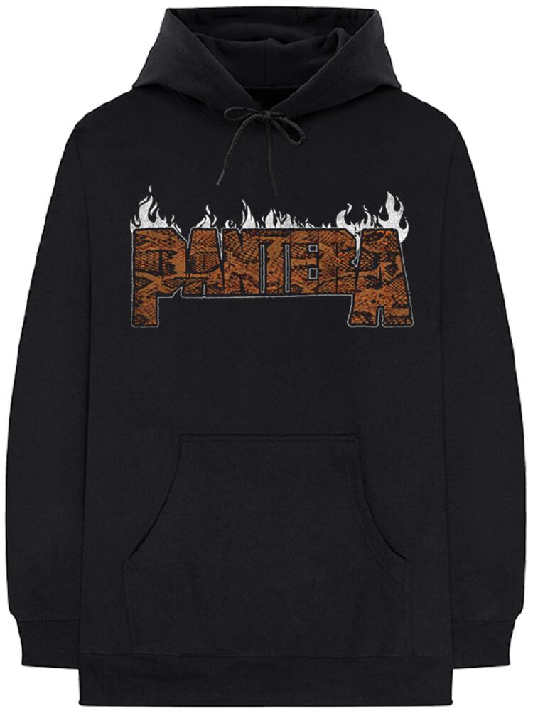 - Pantera Trendkill Flames Black Unisex Hoodie S