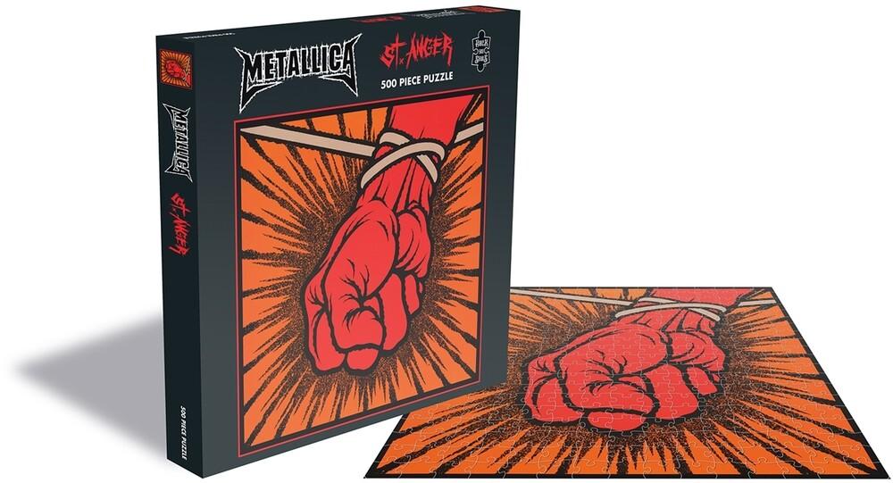 Metallica st Anger (500 Piece Jigsaw Puzzle) - Metallica St Anger (500 Piece Jigsaw Puzzle) (Uk)