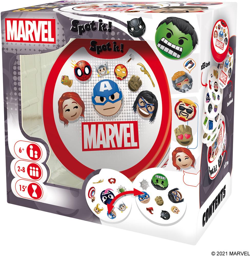 Spot It! Marvel Emojis - Spot It! Marvel Emojis (Crdg)