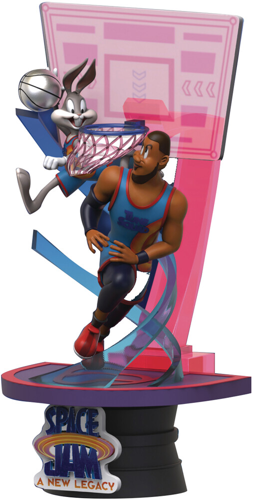 Beast Kingdom - Space Jam New Legacy Ds-069 Bugs & Lebron D-Stage