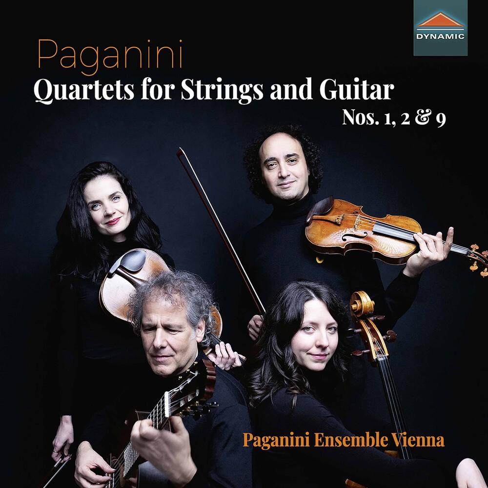 Paganini / Paganini Ensemble Vienna - Quartets For Strings & Guita