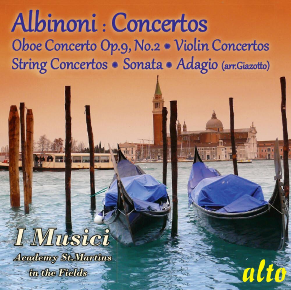 I Musici / Academy of st. Martin-in-the-Fields - Albinoni Concertos Sonata Adagio
