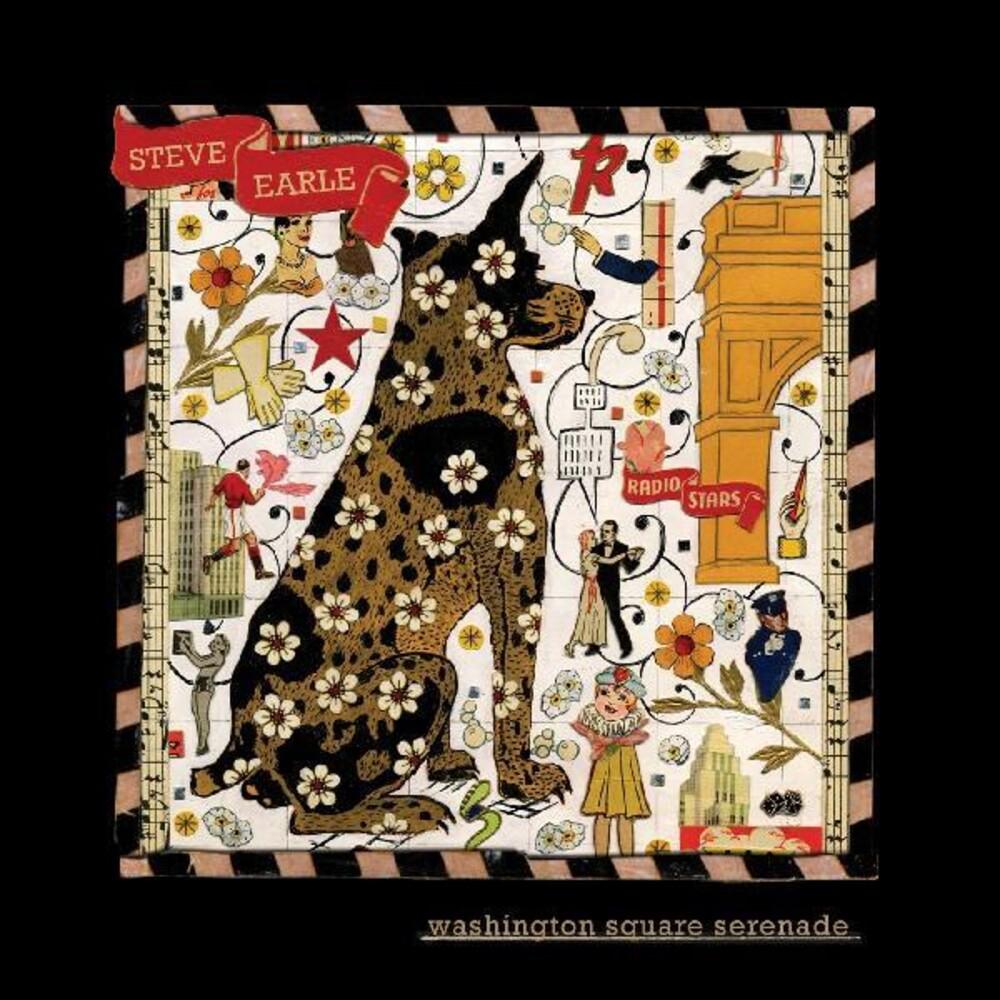Steve Earle - Washington Square Serenade (Metallic Gold Color)