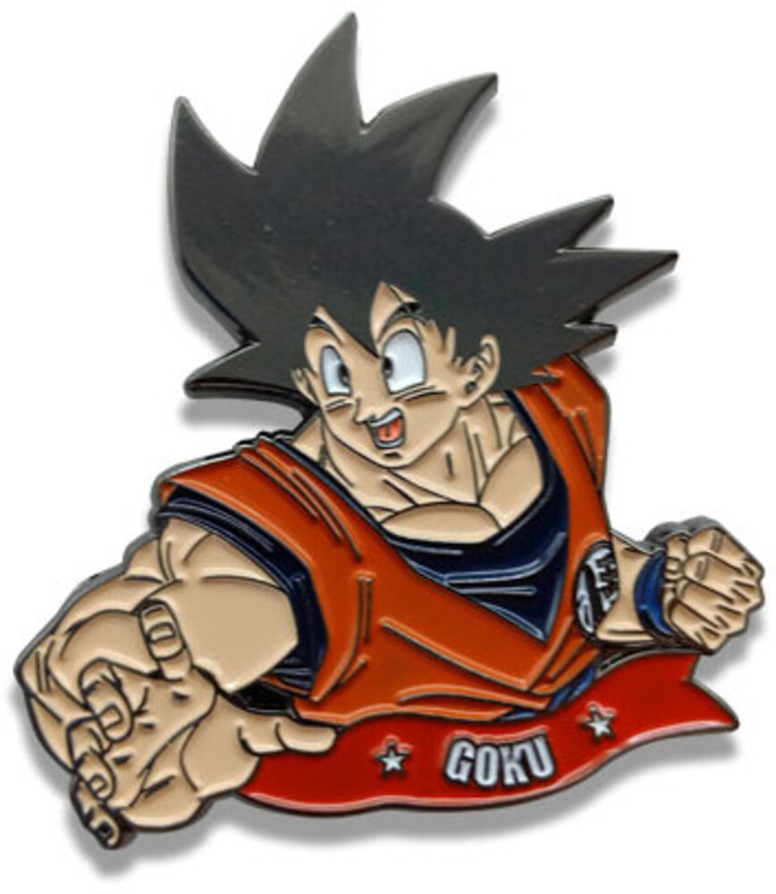 Dragon Ball Super Goku Enamel Collectible Pin - Dragon Ball Super Goku Enamel Collectible Pin