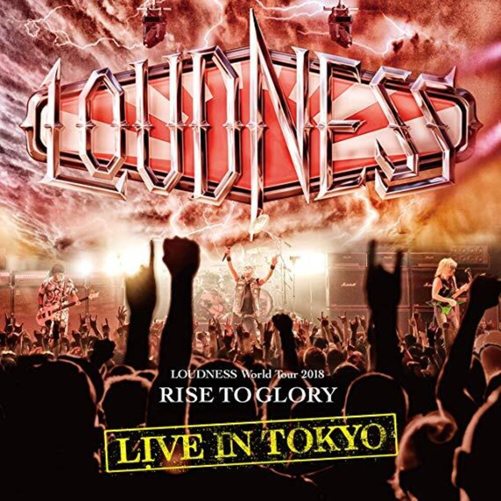 Loudness - Loudness World Tour 2018 Rise To Glory Live In Tokyo [Import 2DVD+CD]