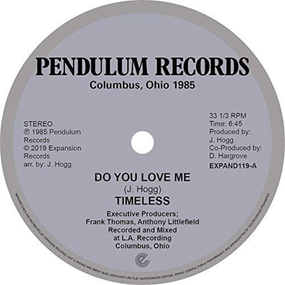 Timeless Legend - Do You Love Me / You're The One (Uk)