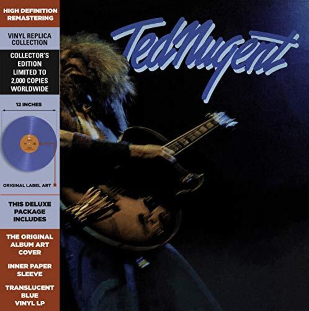 Ted Nugent - Ted Nugent (Blue) [Colored Vinyl]