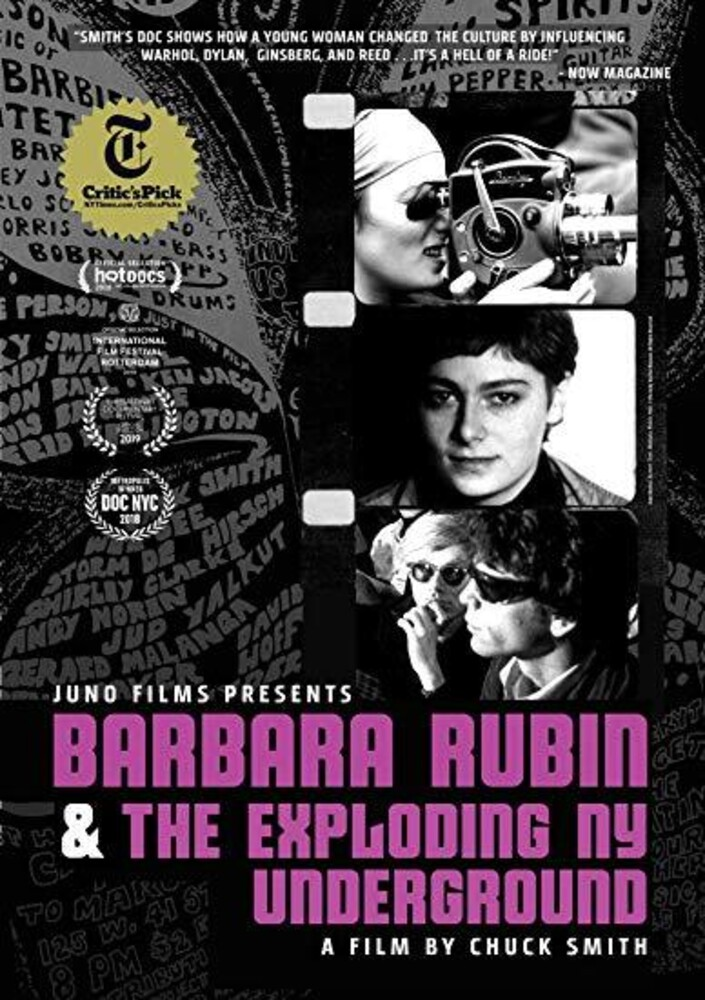 - Barbara Rubin And The Exploding Ny Underground
