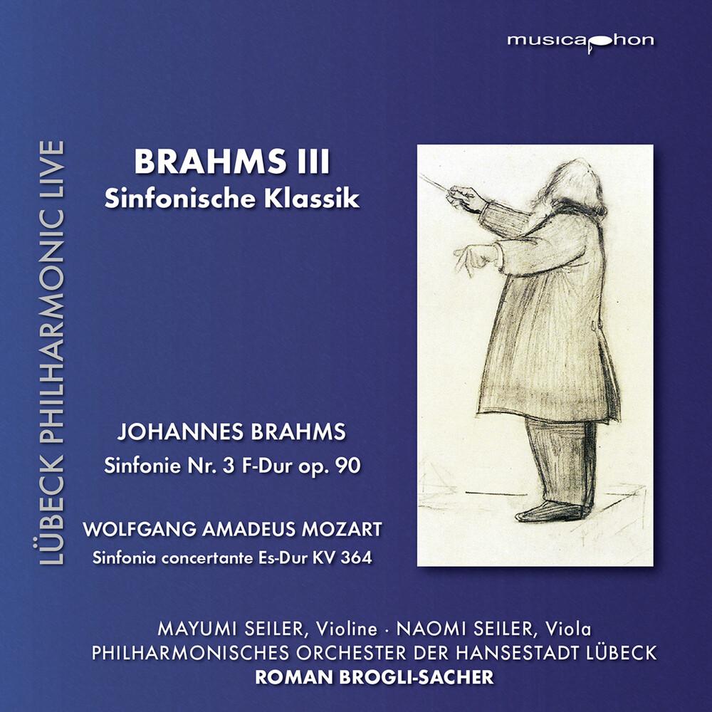 Brahms / Seiler / Brogli-Sacher - Brahms 3 (Hybr)