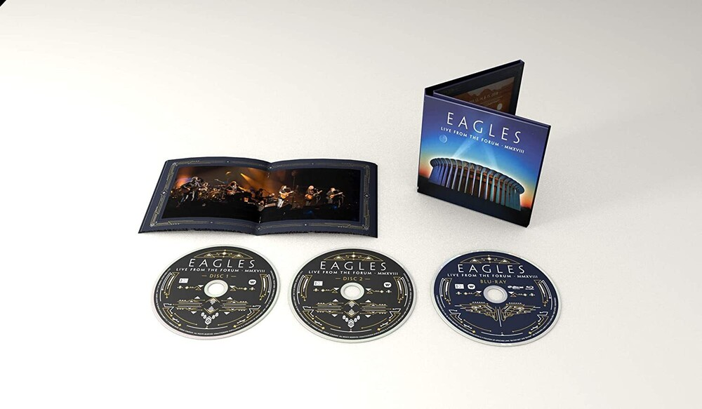 Eagles - Live From The Forum MMXVIII [2CD/Blu-ray]